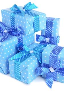 Beautiful gifts close-up