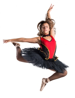 Beautiful girl ballerina dancer