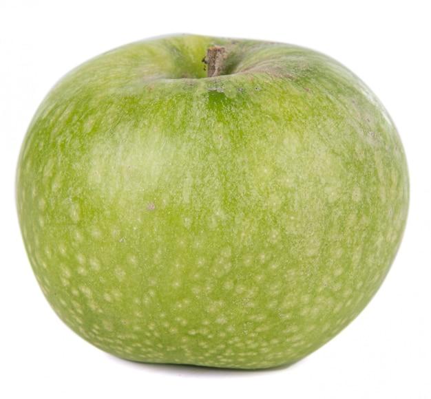 Beautiful green apple isolated