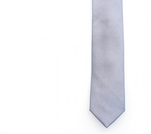 Beautiful grey necktie