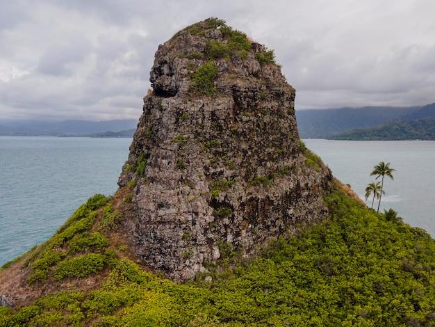 Beautiful hawaii landscape with ocean Free Photo