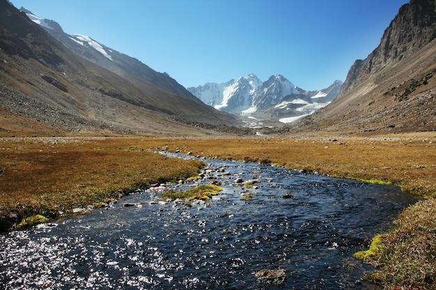 パミールの美しい高山