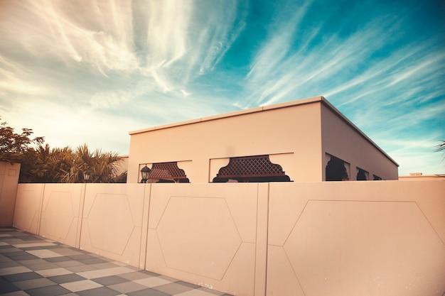 アラブスタイルの美しい家
