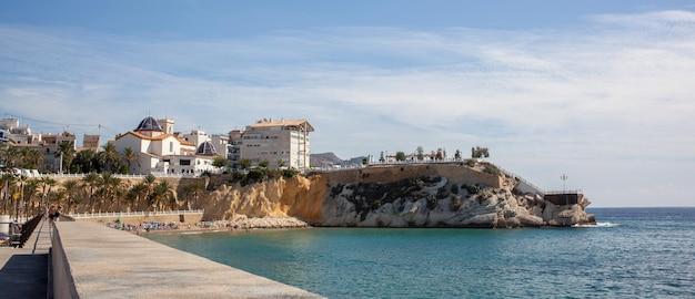 Benidorm, 스페인의 아름다운 집.
