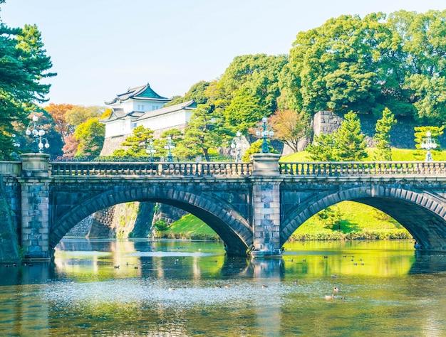 東京の美しい皇居の建物