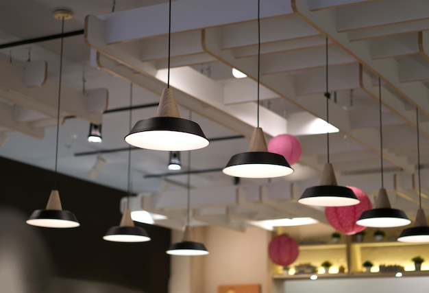 Beautiful interior lighting lamp decor
