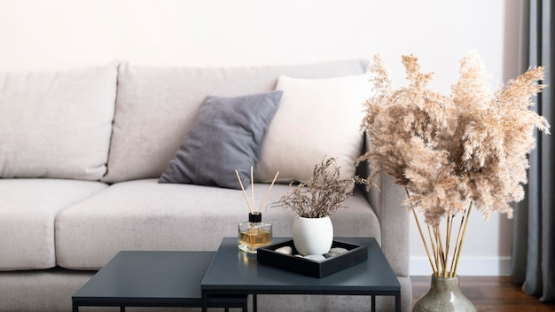 Красивая концепция дизайна интерьера комнаты