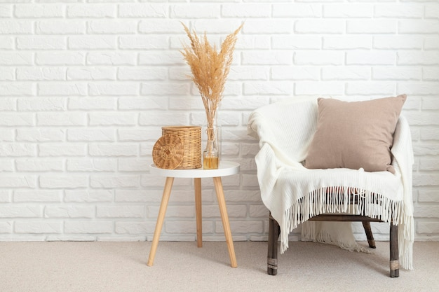 Beautiful interior room design concept