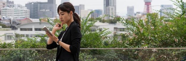 Концепция красивой японской женщины