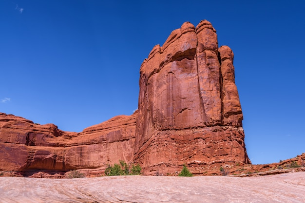 Beautiful landscape in arches national park, utah, usa