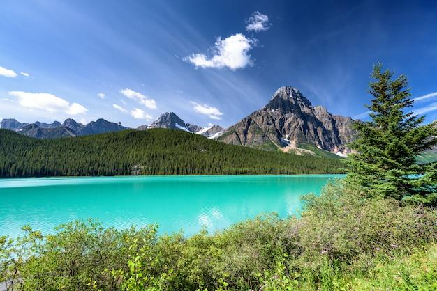 Beautiful landscape in banff national park, alberta, canada