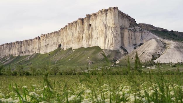 Beautiful landscape of belaya scala