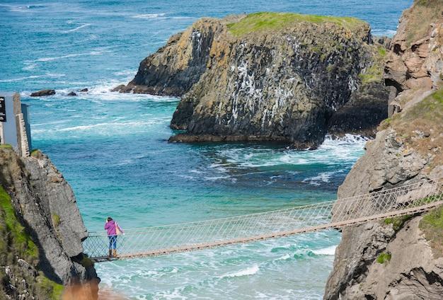 北アイルランド、イギリスの美しい風景。