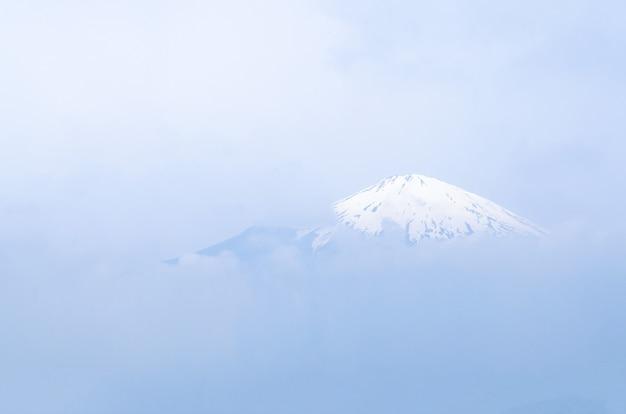 Beautiful landscape mountain fuji in japan.