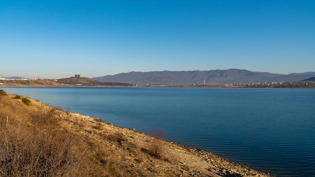 トビリシ貯水池の美しい風景