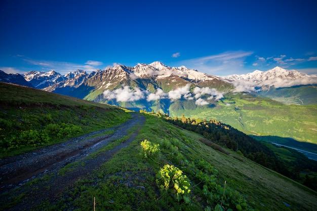 록키 산맥의 아름다운 풍경