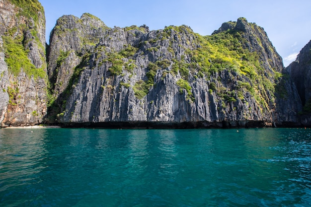 Beautiful landscape   phi hpi island location thailand