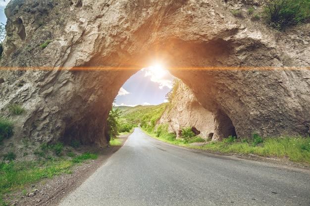 산도로와 아름 다운 풍경