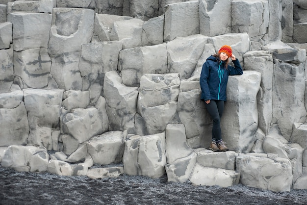Beautiful landscapes of iceland while travelling