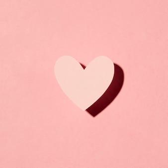Красивая любовная композиция на розовом