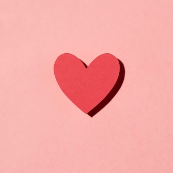 Beautiful love arrangement on pink