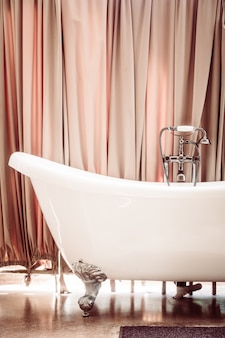 Beautiful luxury bathtub