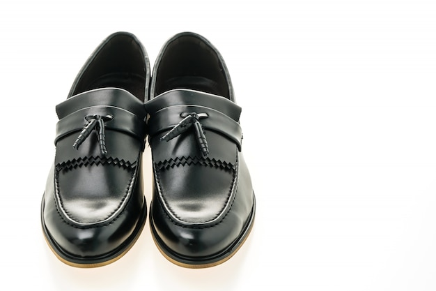Beautiful luxury and casual leather men shoes