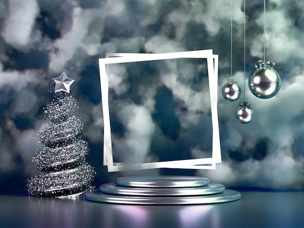 美しい豪華なクリスマス休暇の背景。