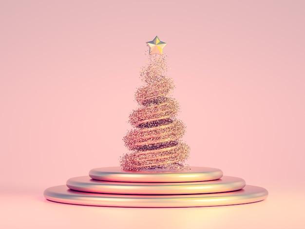 아름 다운 럭셔리 크리스마스 휴일 배경입니다.