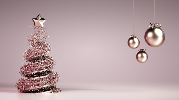 Beautiful luxury new year christmas holiday background.