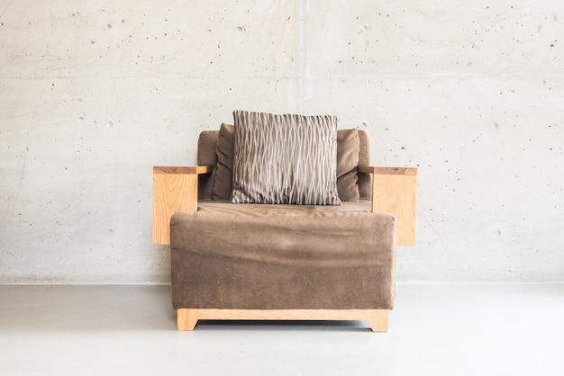 Beautiful luxury wooden sofa