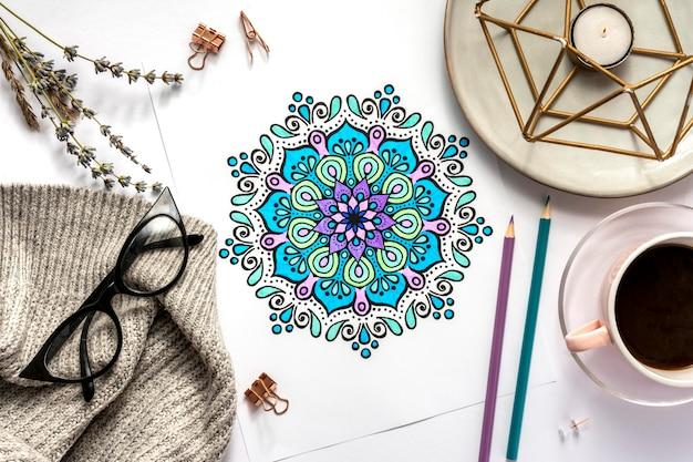 美しい曼荼羅のデザインコンセプト