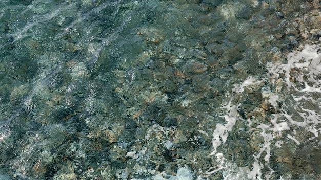 Bella vista marina in riva al mare