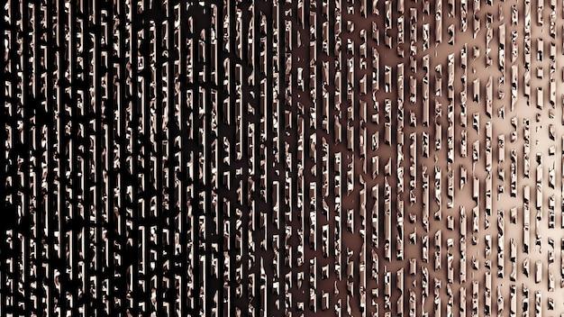 レリーフ、石膏、修理の美しいモダンな背景のテクスチャ。 3dイラスト、3dレンダリング。