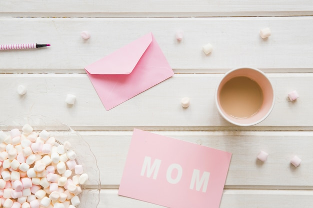 Beautiful mother day composition