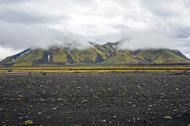 아이슬란드의 아름다운 산악 지역