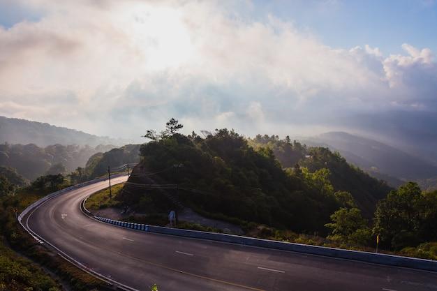 Beautiful mountain roads
