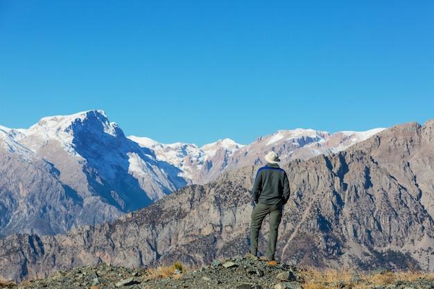 터키의 아름다운 산 풍경.