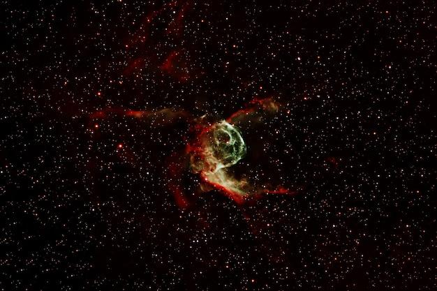 아름다운 여러 가지 빛깔의 은하. 이 이미지의 요소는 nasa에서 제공했습니다. 고품질 사진