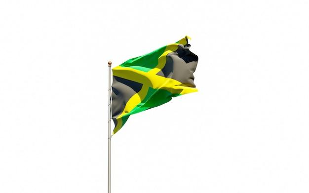 ジャマイカの美しい国民国家の旗
