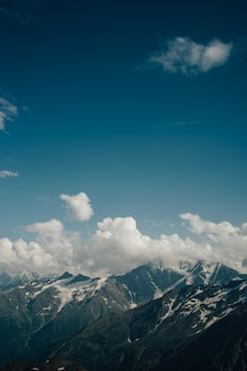 Beautiful natural landscape of mountains
