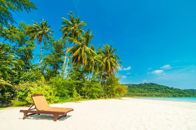 Beautiful nature tropical beach