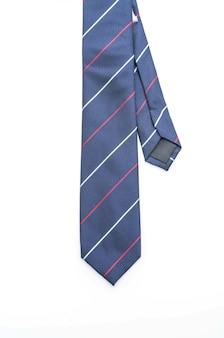 Beautiful necktie on white