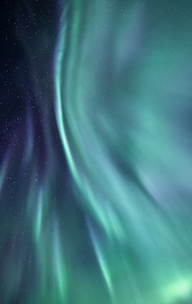 アイスランドの美しいオーロラ