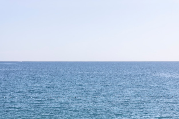 Красивый океан и небо фон
