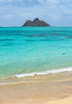 Beautiful ocean on big island, hawaii usa