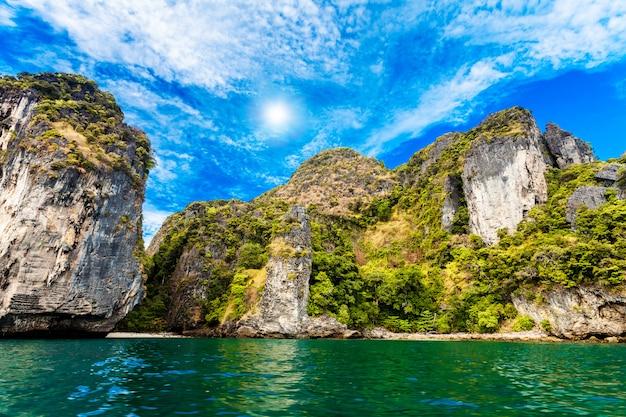 Beautiful ocean landscape.