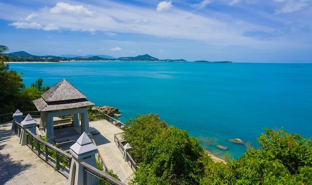 Прекрасное море кох самуи (остров самуи), таиланд.