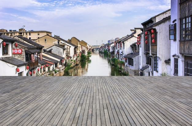 The beautiful old streets of suzhou