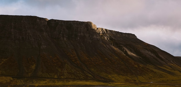 Beautiful panoramic photos of icelandic landscapes that transmit beauty and tranquility.